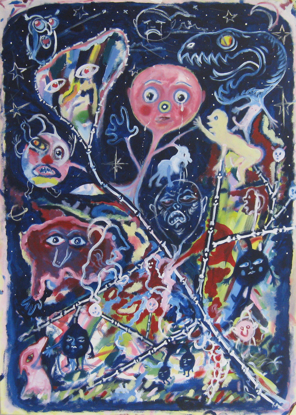 Moonchild  60 x 120  Acrylic on canvas