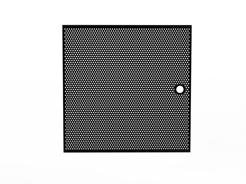 MESH PANEL - FROM BRUSHED AND ANODIZED ALUMINIUM