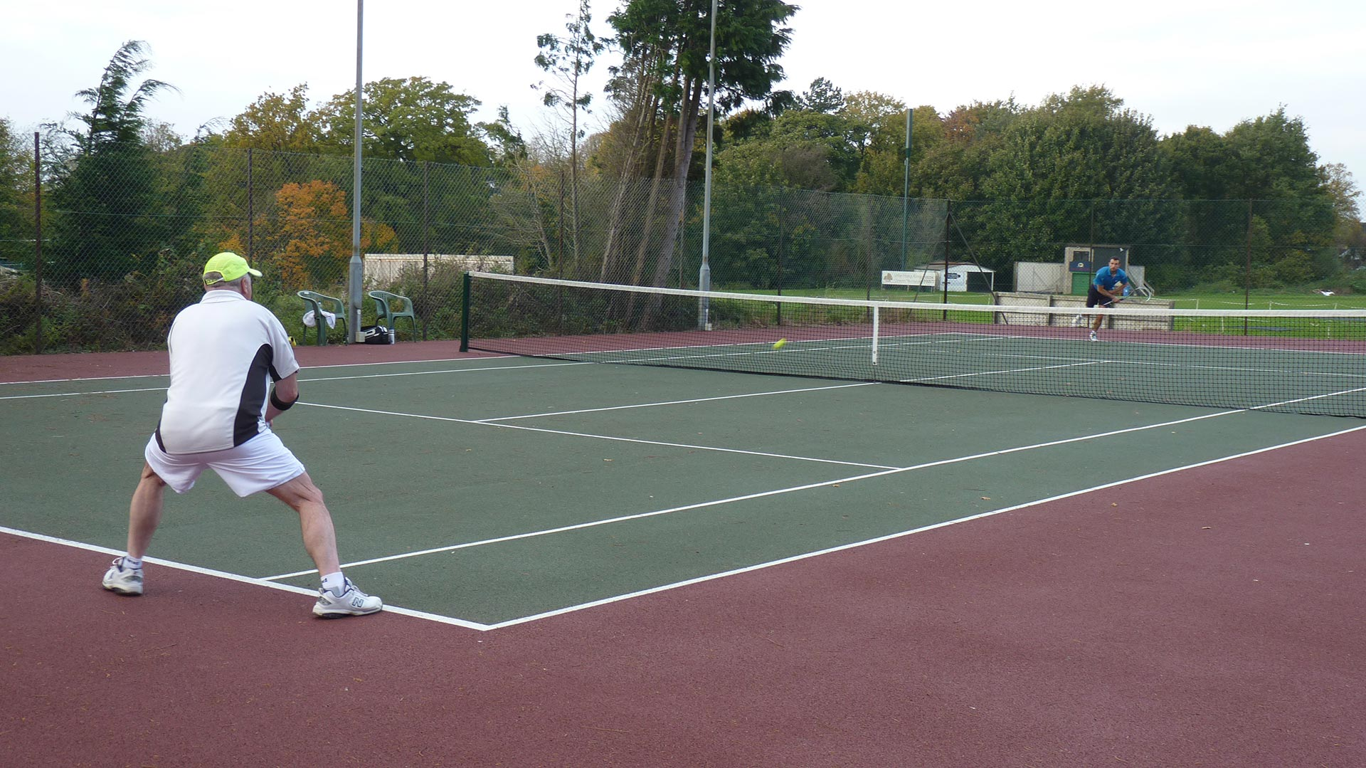 Social tennis - We have a thriving social tennis scene at the club.