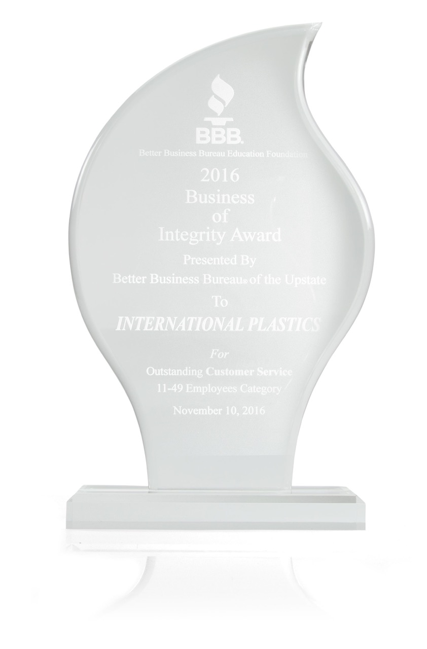 Business of Integrity Award