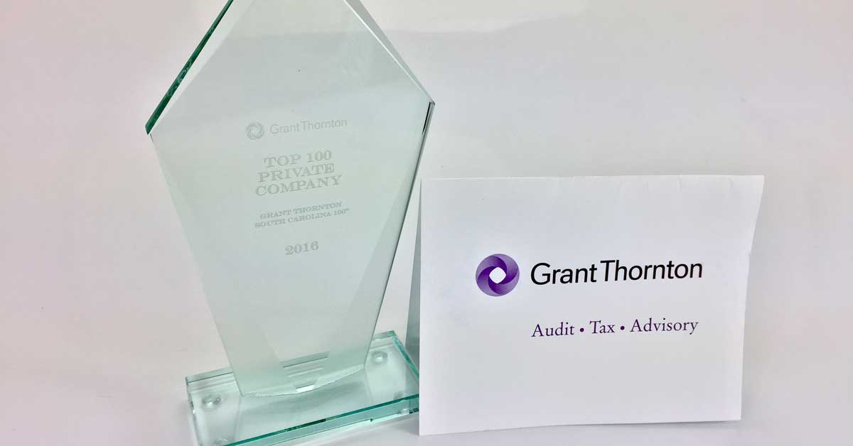 Another Grant Thornton Award goes to International Plastics