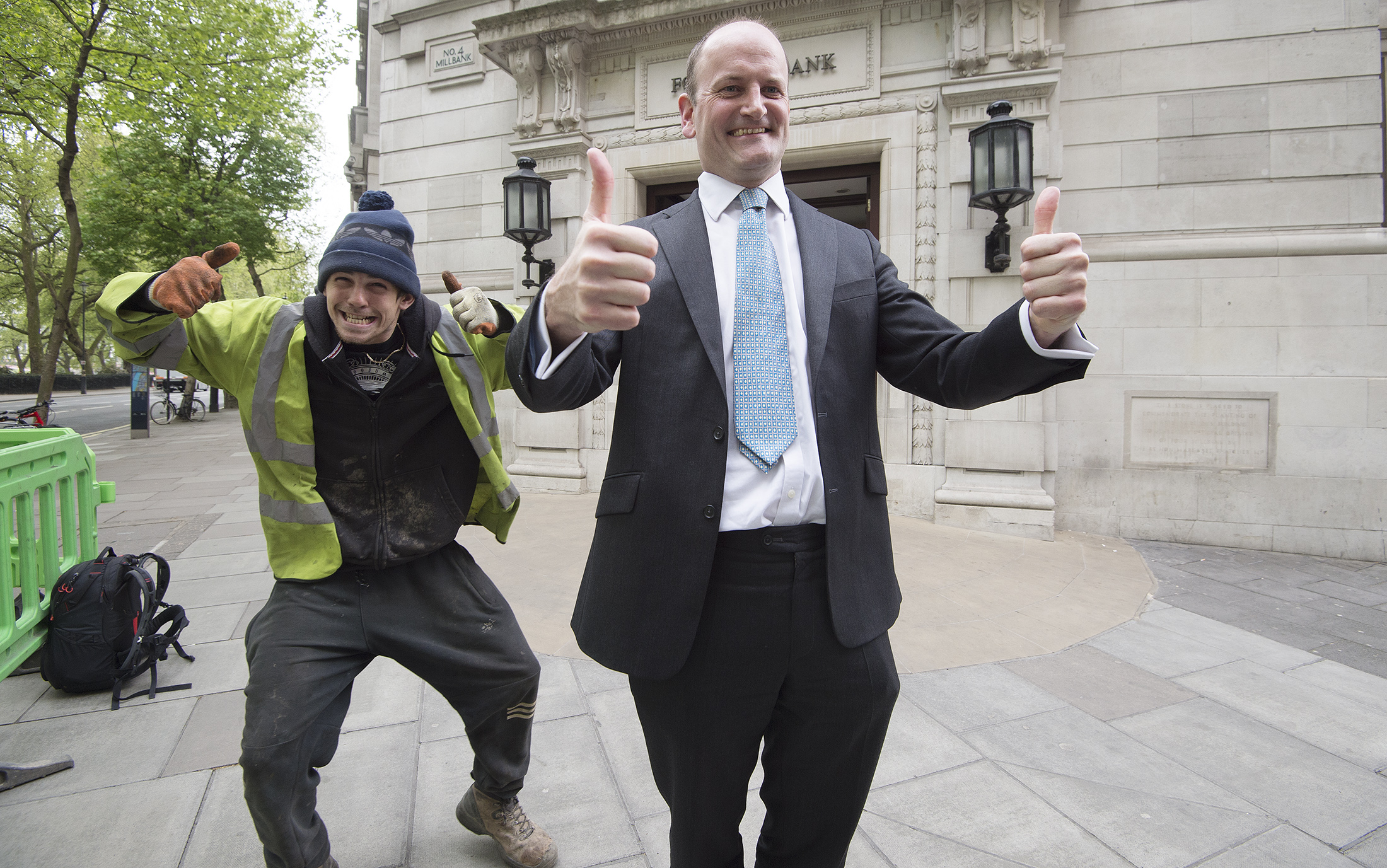 Douglas Carswell, former Tory/UKIP MP, after announcing that he would not stand at the upcoming General Election.Photo by Eddie Mulholland  20 April 2017