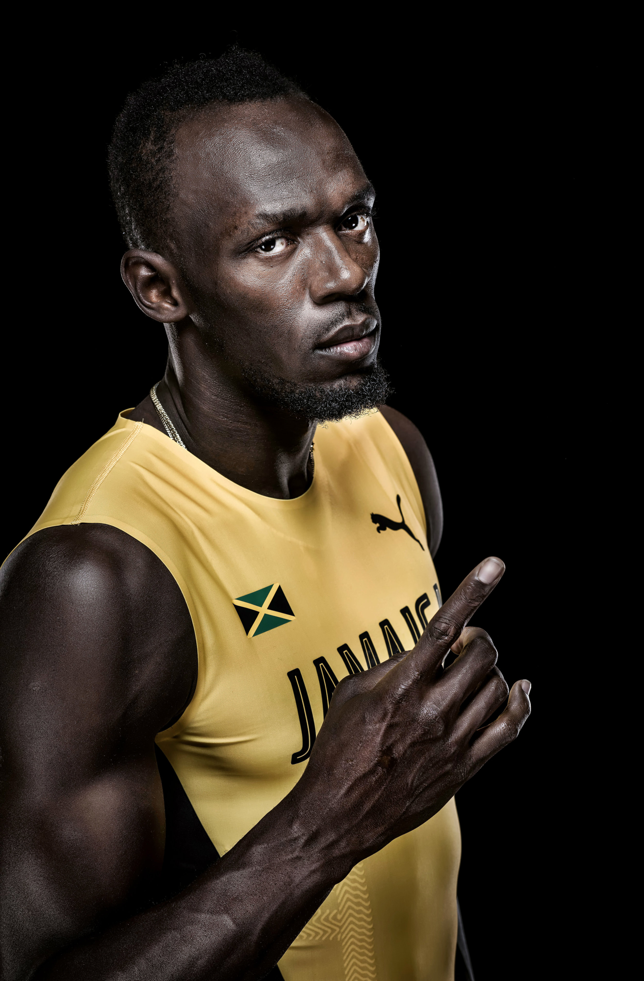 USAIN BOLT JUST AFTER HIS RETIREMENT FROM ATHLETICS, BUT STILL NUMBER ONE