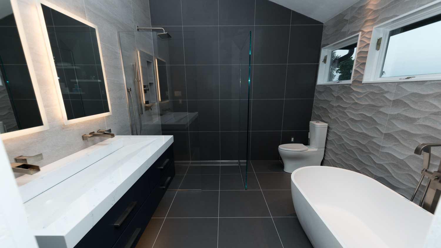 Custom Luxury Bathrooms