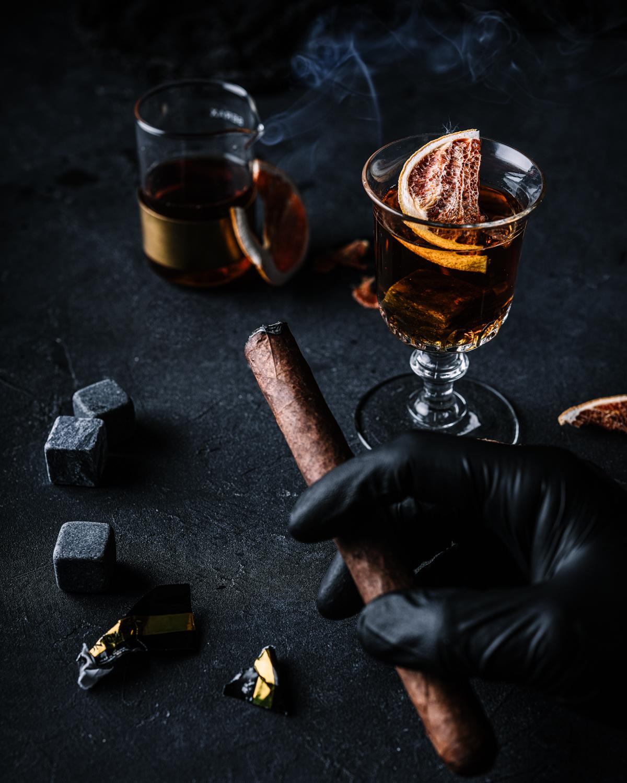 Mats dreyer fotograf oslo norge matstylist styling drink bilder whisky old fashioned produkt foto