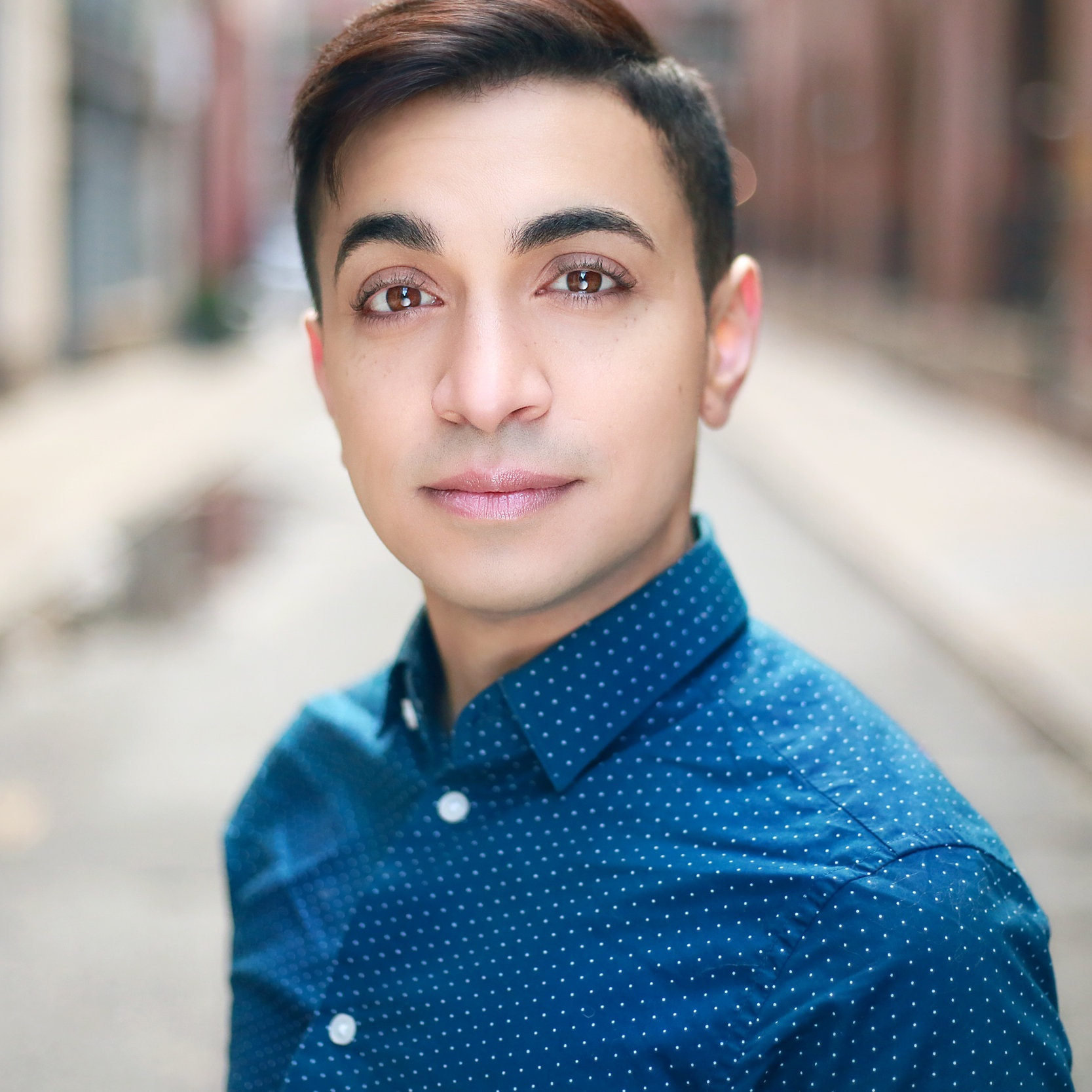 SAMY NOUR YOUNES - (HE/HIM, THEY/THEM) IS A LEBANESE/BORICUA ACTOR AND ACTIVIST WHO AIMS TO HIGHLIGHT THE DIVERSITY OF THE TRANS EXPERIENCE.