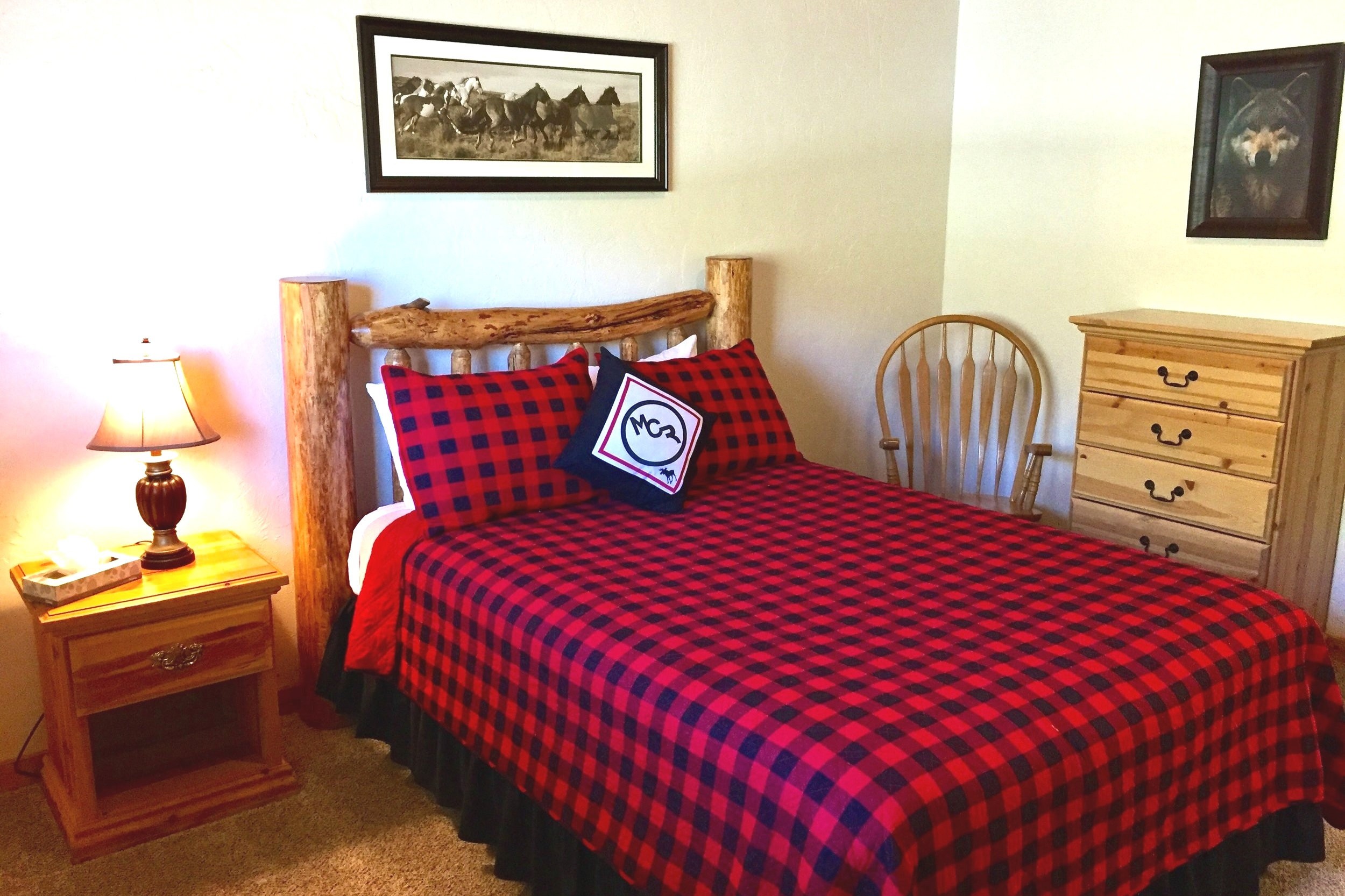 With a queen-sized bed, a shared full bathroom and a fully equipped kitchen, guests will find comfort and convenience in our charming Twin Cabins. - twin cabins north$2,599