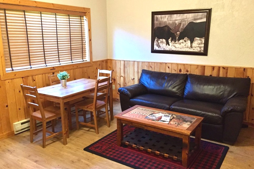 With a full sized pull-out couch, a shared full bathroom and a fully equipped kitchen, guests will find comfort and convenience in our charming Twin Cabins. - twin cabins south$2,299