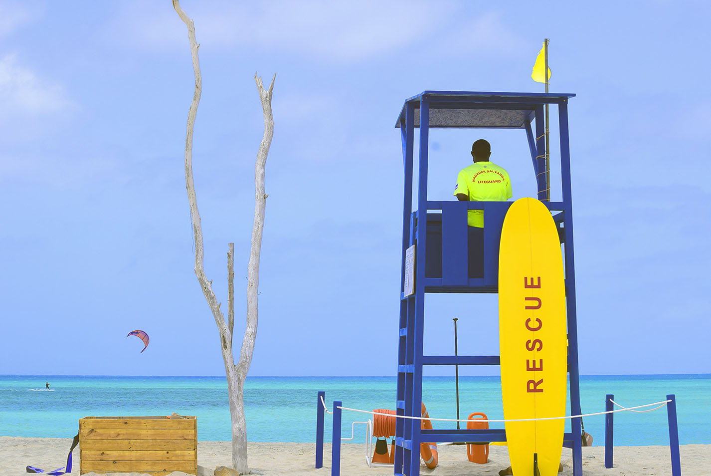 Rescue Tower - Morabeza Kitesurfing in Boa Vista Cape Verde.jpg