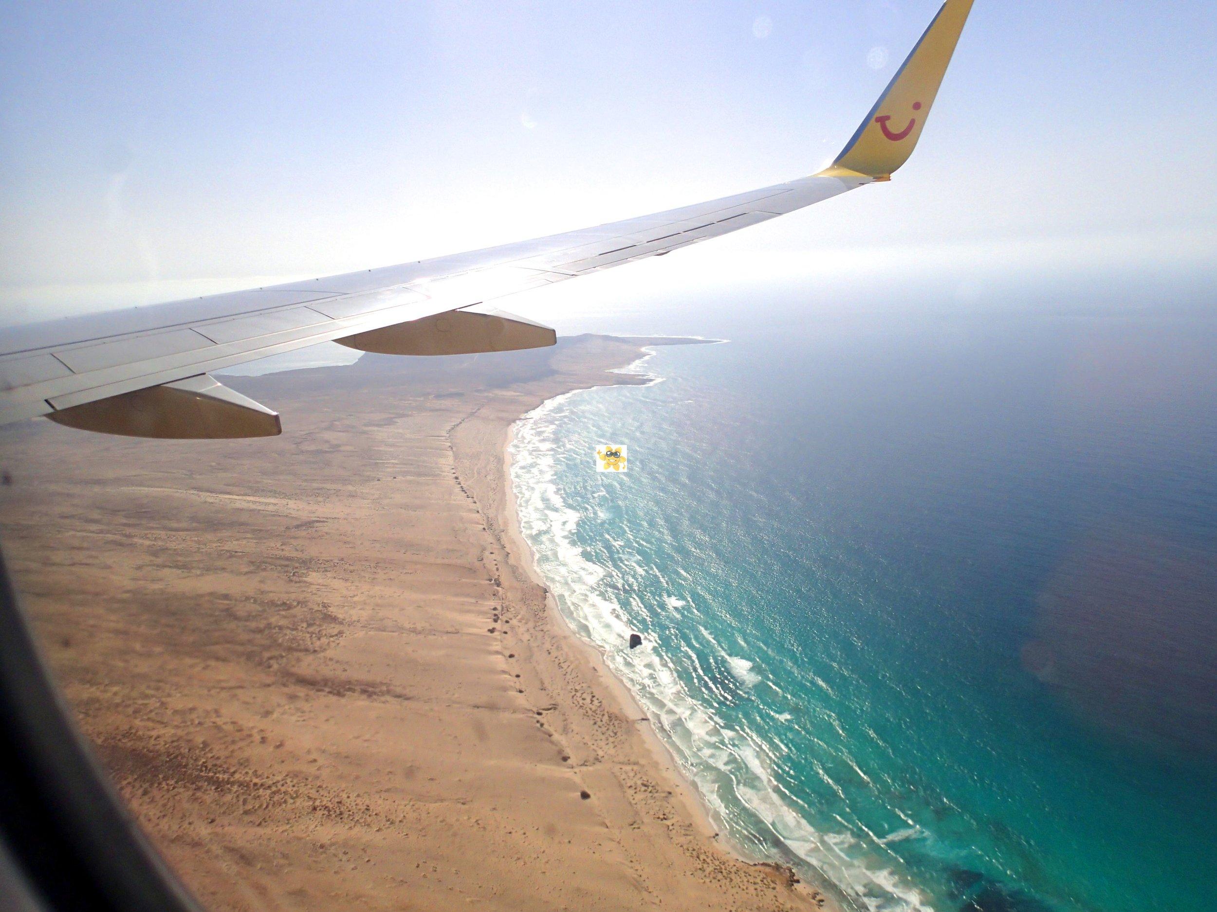 Arrival flight to Boa Vista - Morabeza Kitesurfing in Boa Vista Cape Verde.jpg