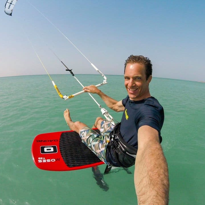 CHRISTIAN BOESCH - PRO KITESURFERCool people, easy vibes and nice conditions. Foiling in front of the center is great and going around the little Island in front of Sal Rei is magnificient. Will be back!