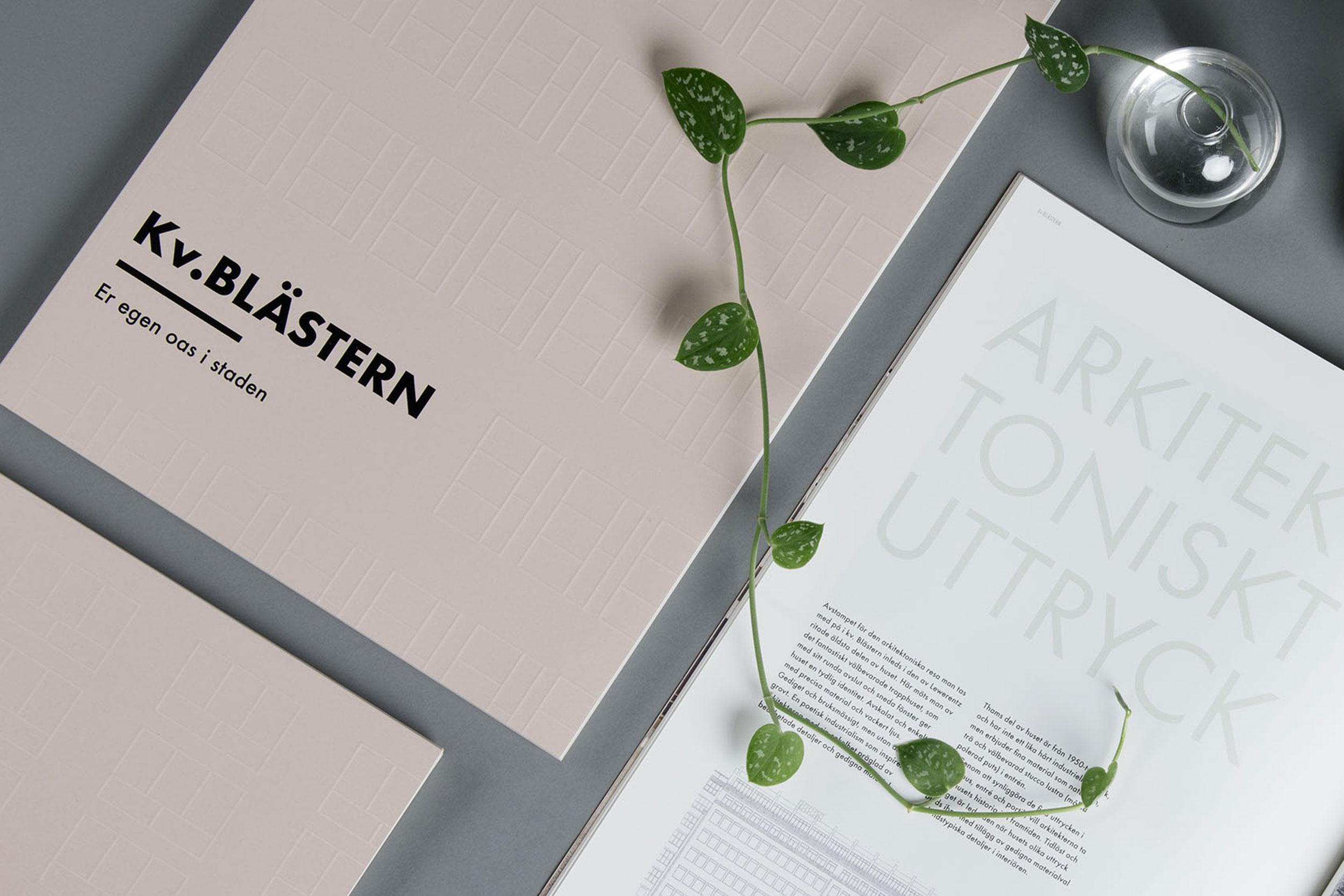 Kv. Blästern — Visual Identity