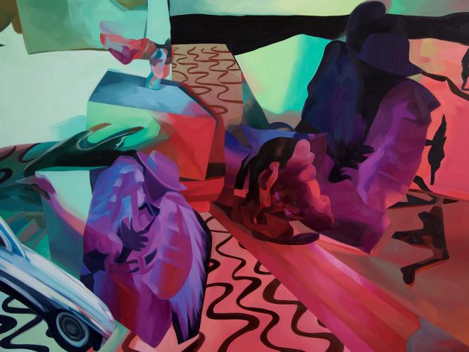 """The Interlocutors, 48"""" x 36"""", oil on canvas"""