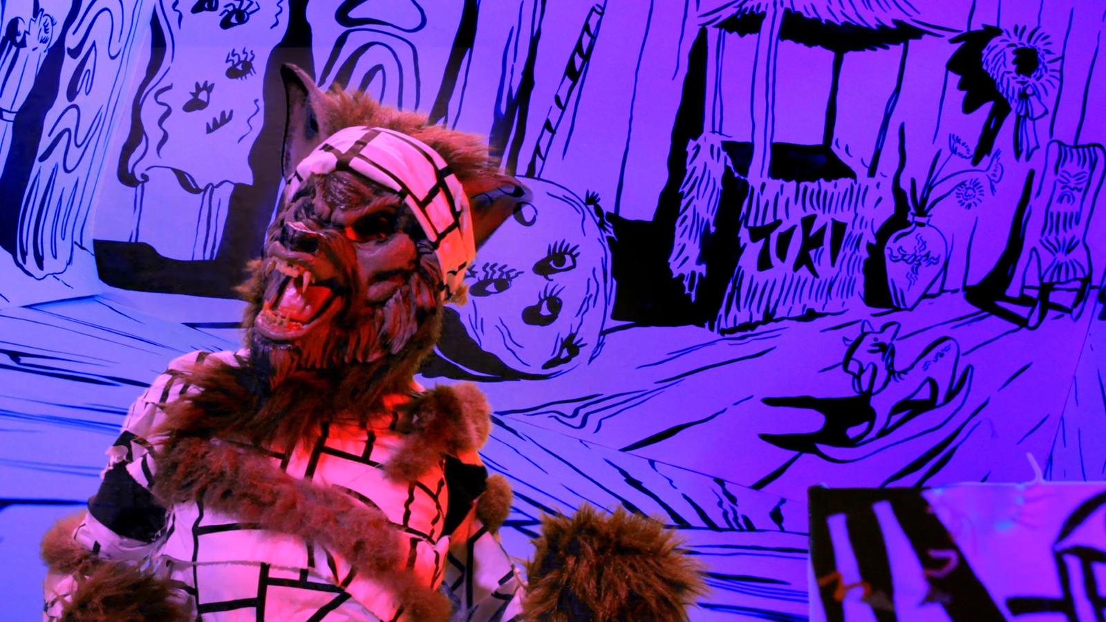 Video Still from Eyelash Wars, 2014