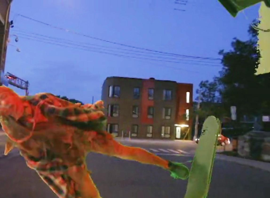 Video still form Better Man, 2015, Fofa Gallery, Montreal, Canada