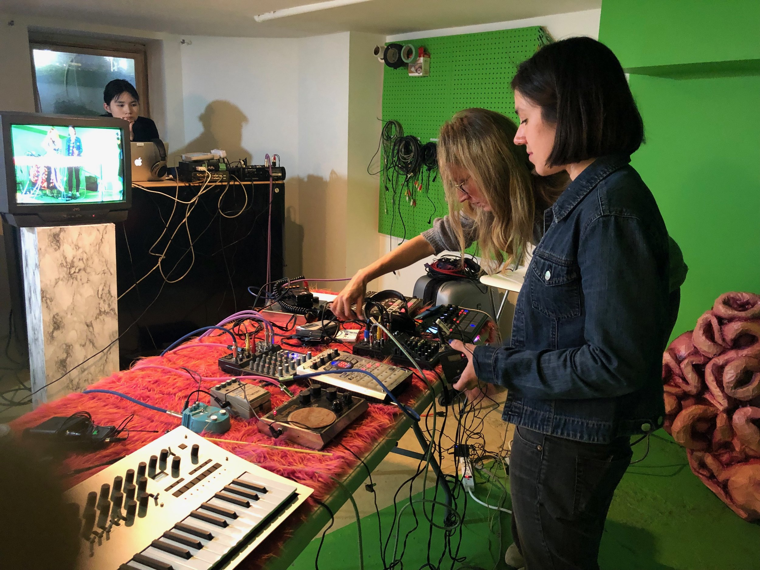 In studio at BUMP TV in Toronto, ON