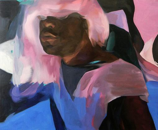 """M. Cesar, 30"""" x 24"""", oil on canvas"""