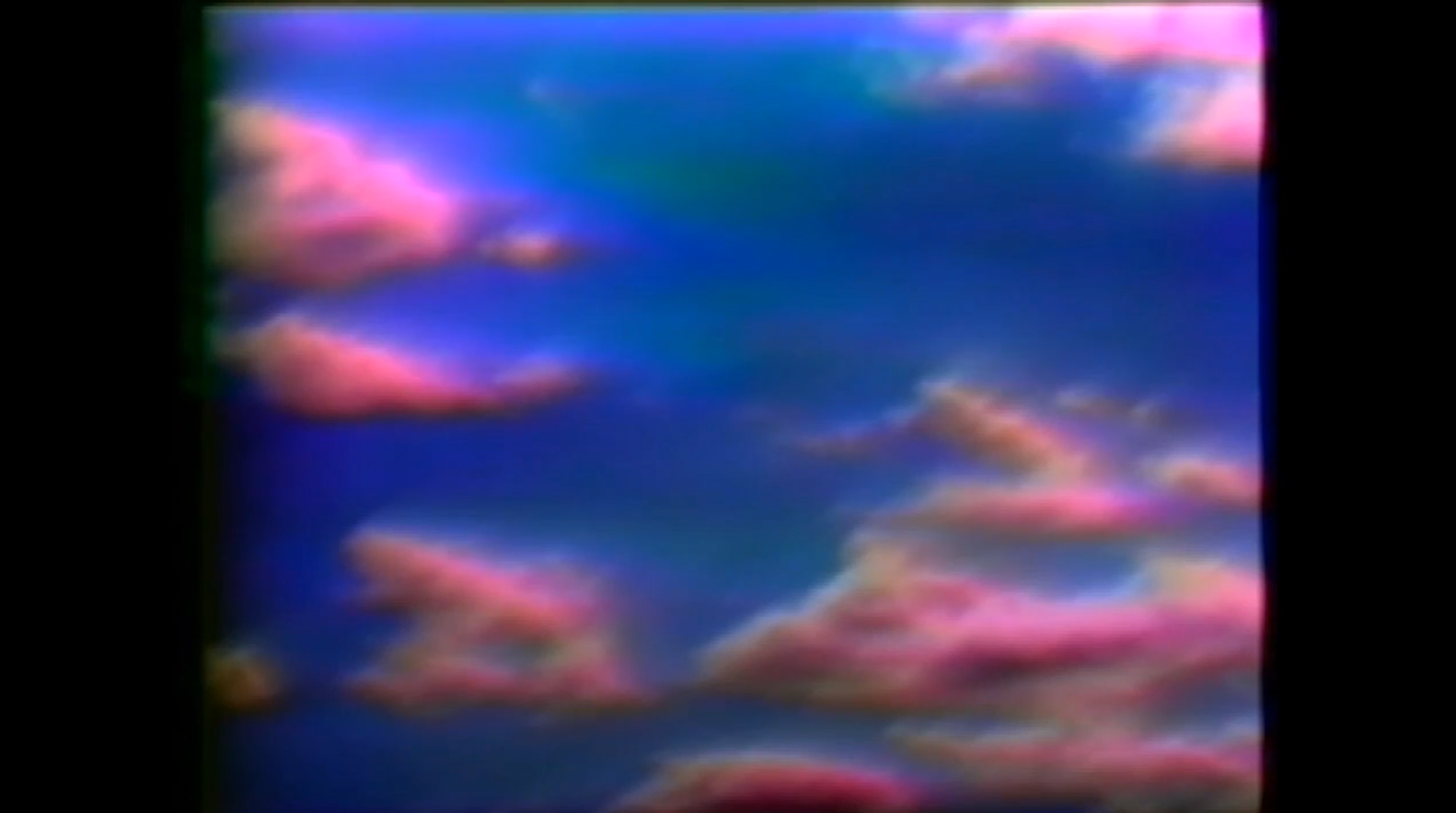 Video still from Violet Cutler's CLOUD MEDITATION - w. The Powers