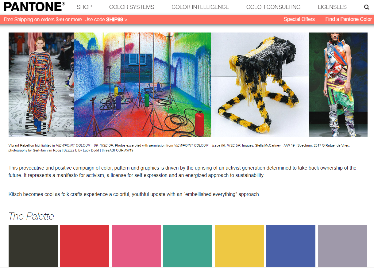 Picture from Pantone.com