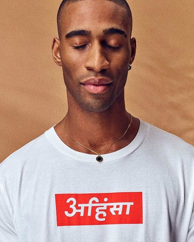The Karma Supra Tee 👁 A symbol rooted in Eastern philosophy for no-harm to others... We dig that 💫