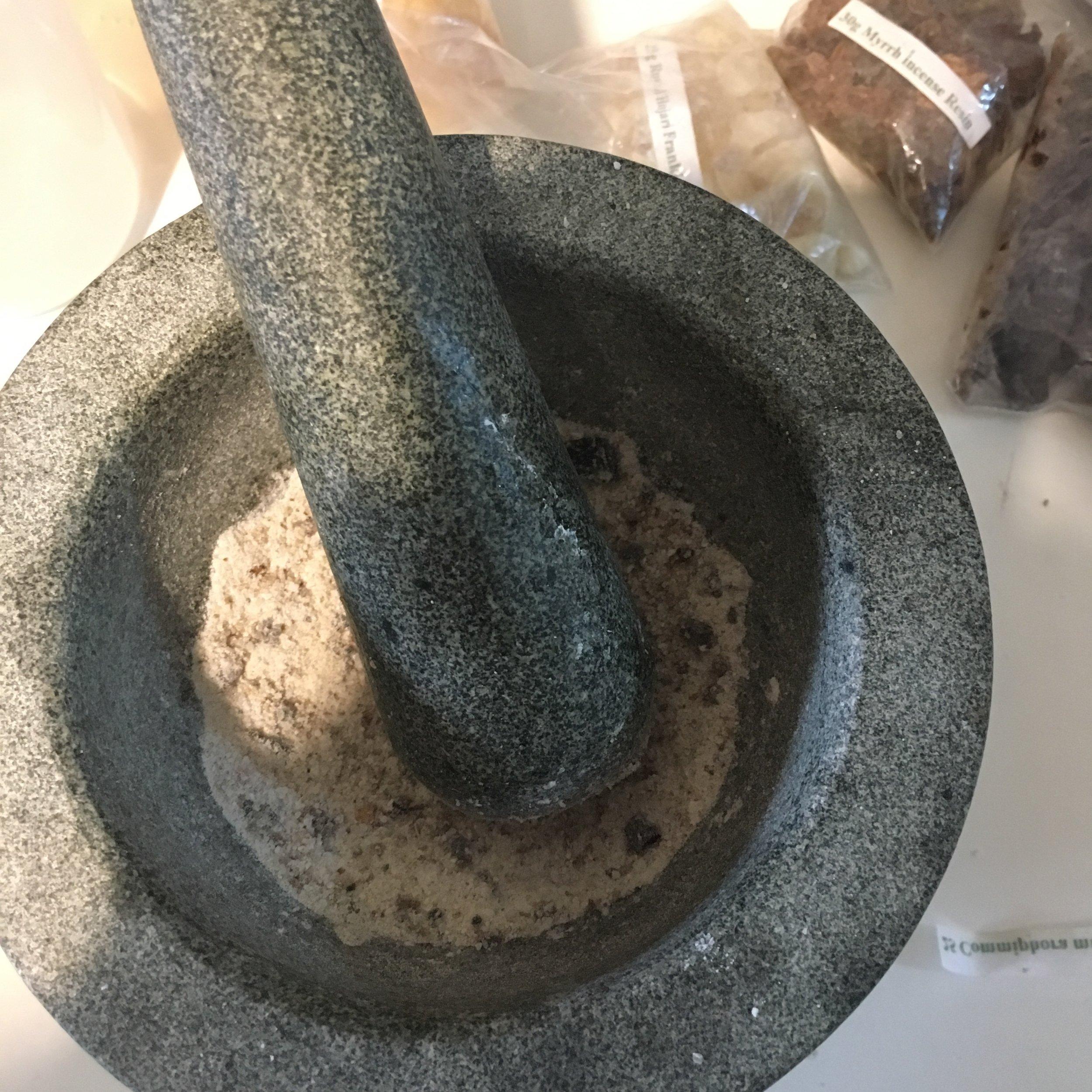 Frank and Myrrh pestle and mortar.JPG