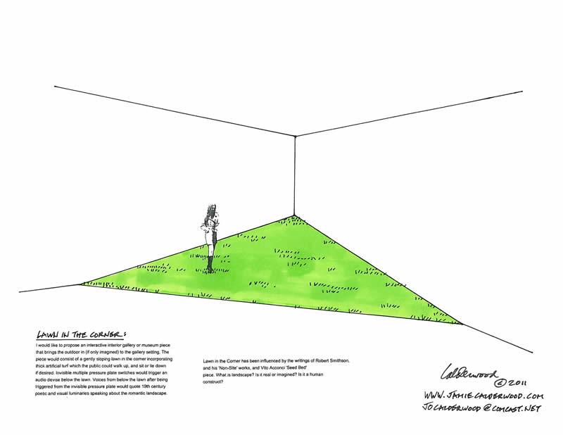 Lawn In The Corner