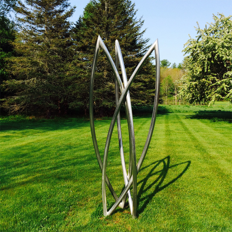 Three Graces - Materials: Welded AluminumDimensions: 9' height