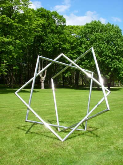 Star - Material: Welded AluminumDimensions: 10' x 10' x 6' depth