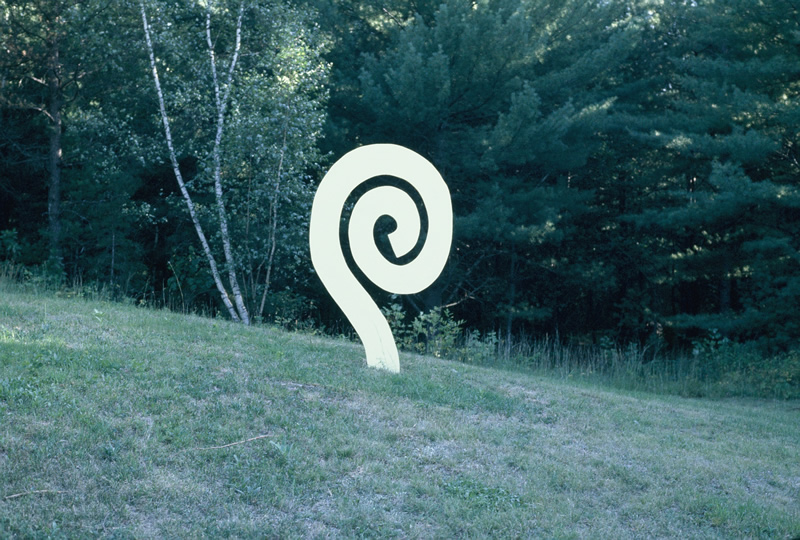 Fiddlehead - Painted AluminumDimensions: 7' height x 4' wide