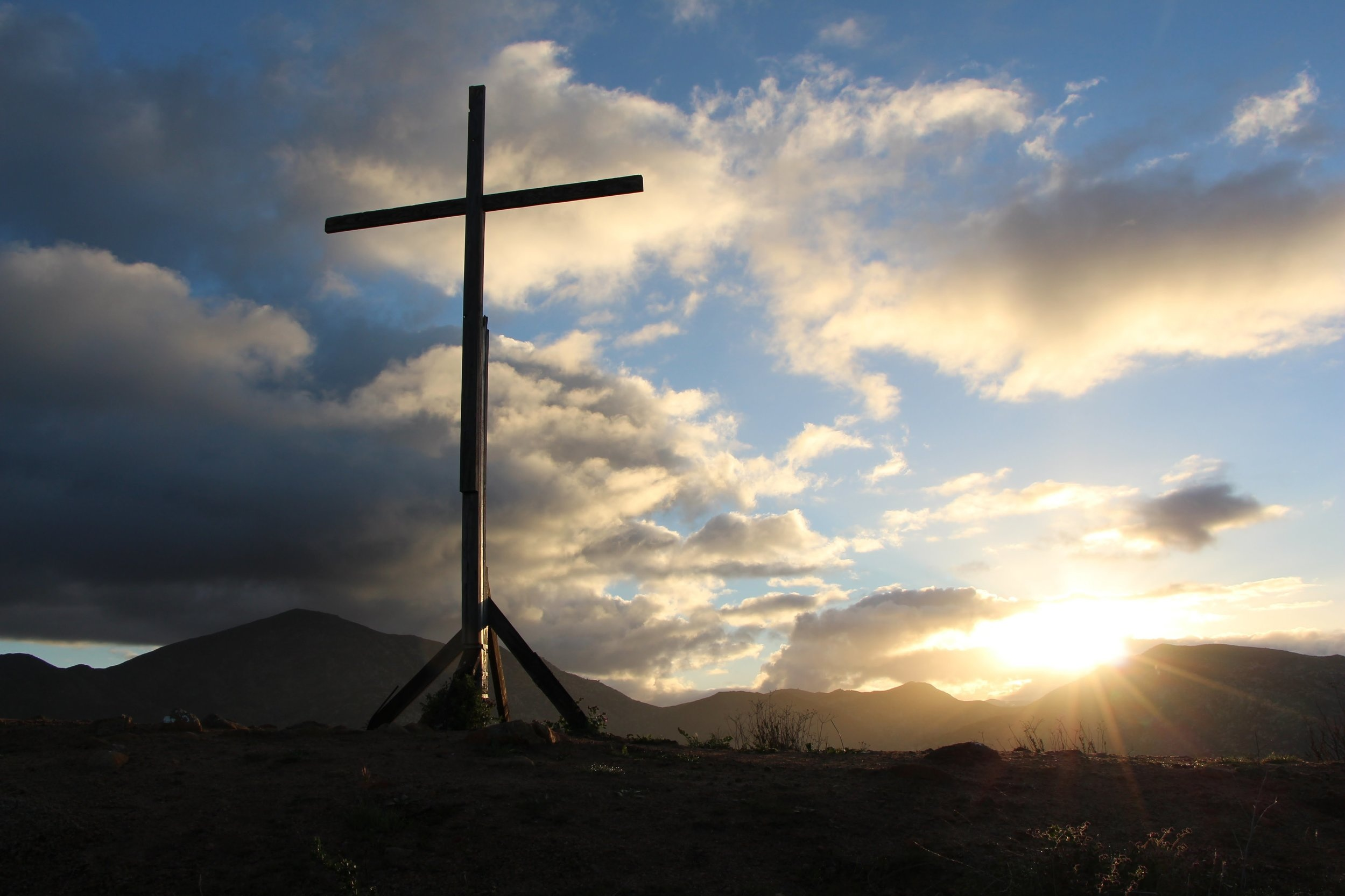 Cross at Rancho De Sus Ninos