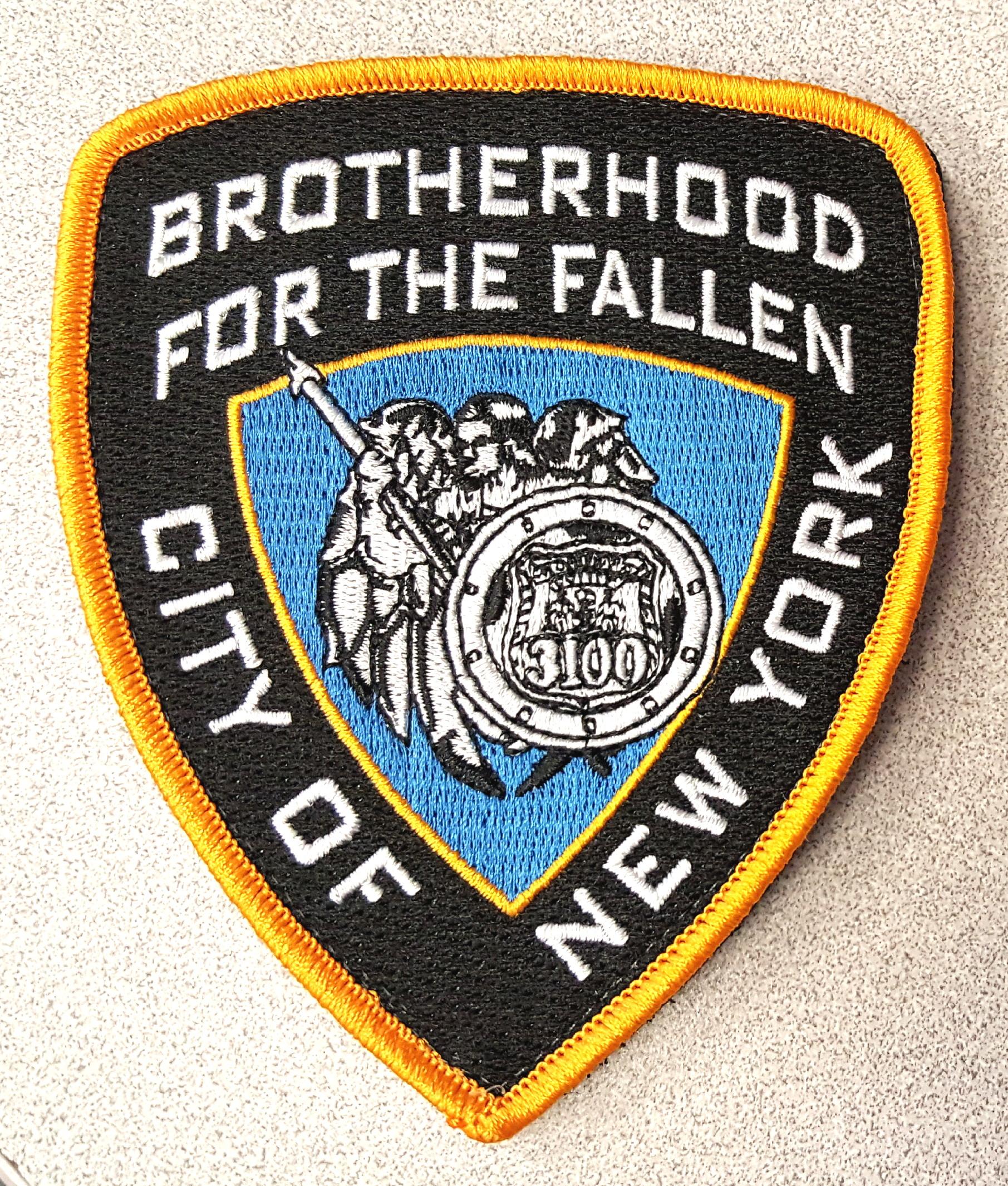 Brotherhoood Velcro Shoulder Patch — Brotherhood for the Fallen