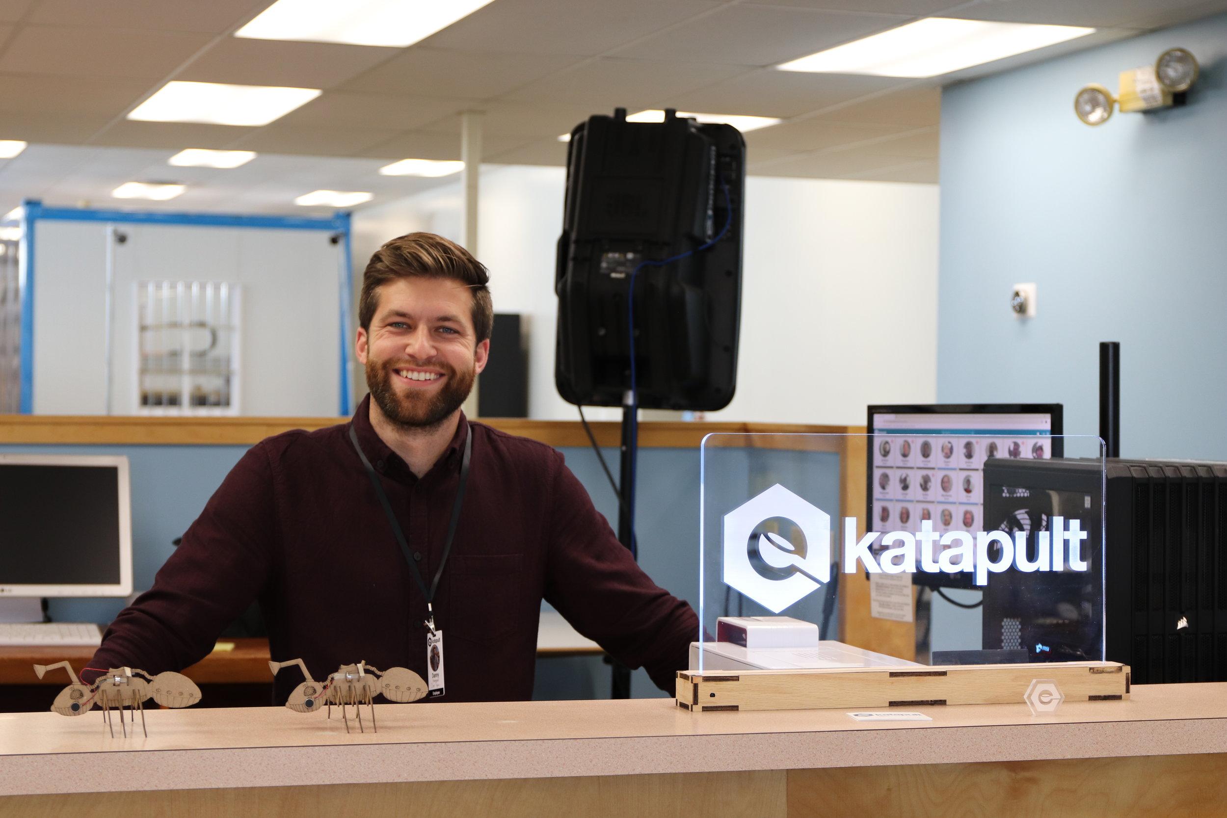 director of KatapultLabs Libratory, Danny Thompson