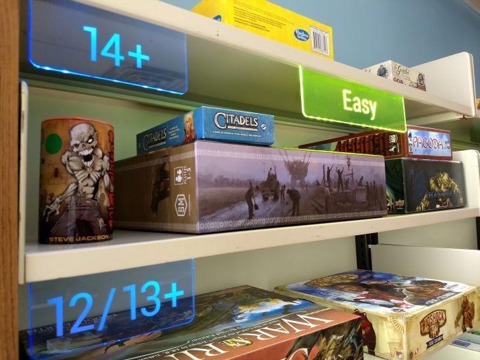 various games located inside of KatapultLabs Libratory