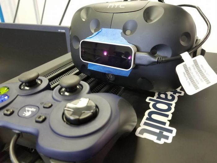 a VR system that is located inside KatapultLabs