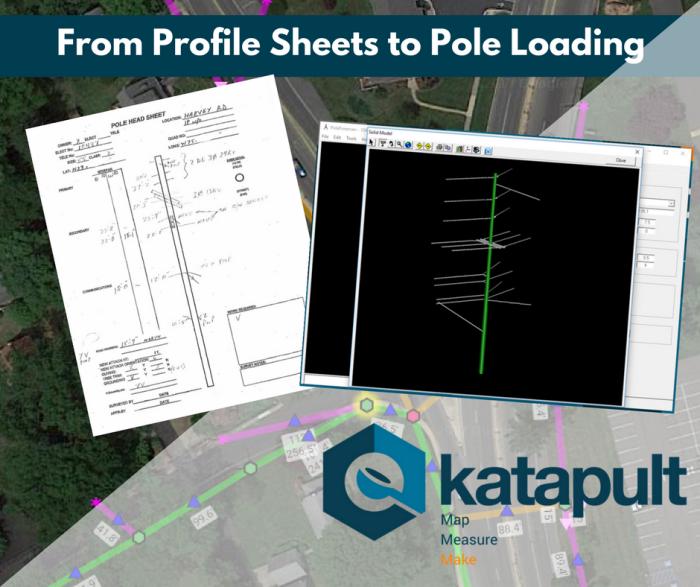 comparing a pole sheet and a pole loading platform, PoleForeman