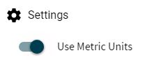 displaying the ability to use metric units within KatapultPro