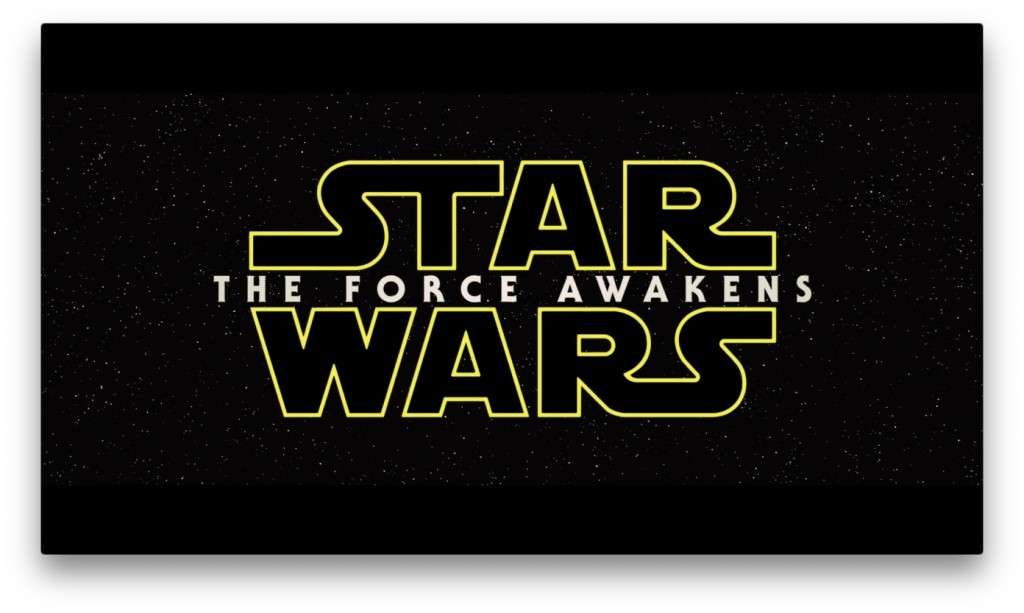 star wars title screen