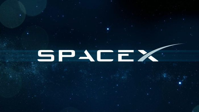 logo of space company SpaceX