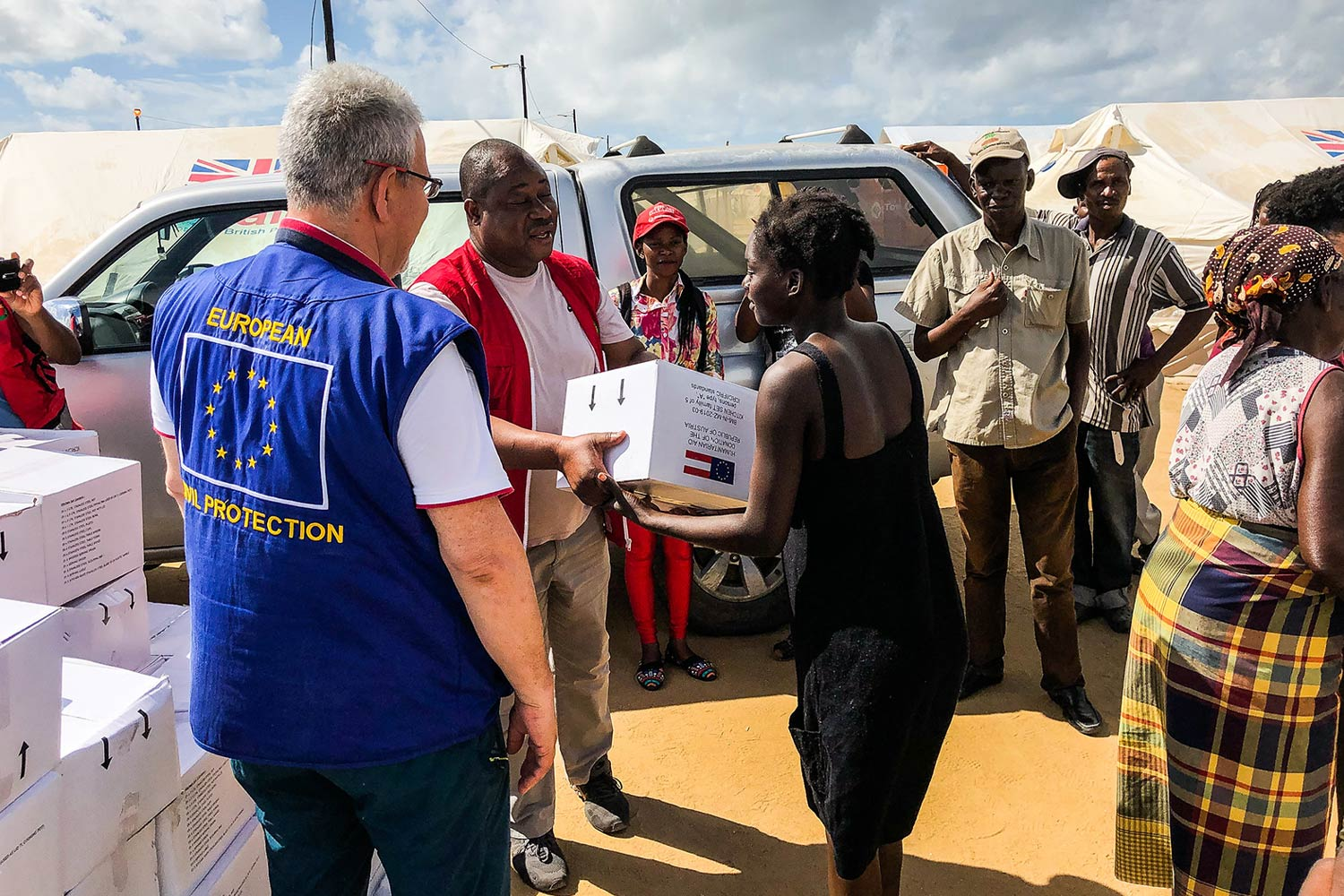 EU response to cyclone Idai in Mozambique. Photo: European Civil Protection and Humanitarian Aid Operations department (DG ECHO).
