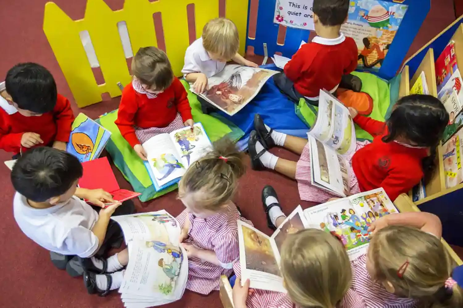 Children are taught how to read according to the strict methods prescribed by Michael Gove. If Hunt is right, it is a terrible indictment of his party's favoured methods. Photograph: Alamy.