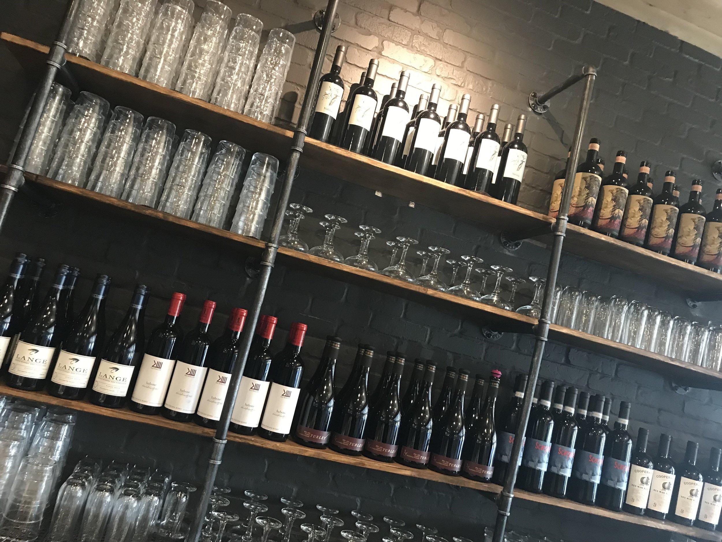 vita di amici di vino -