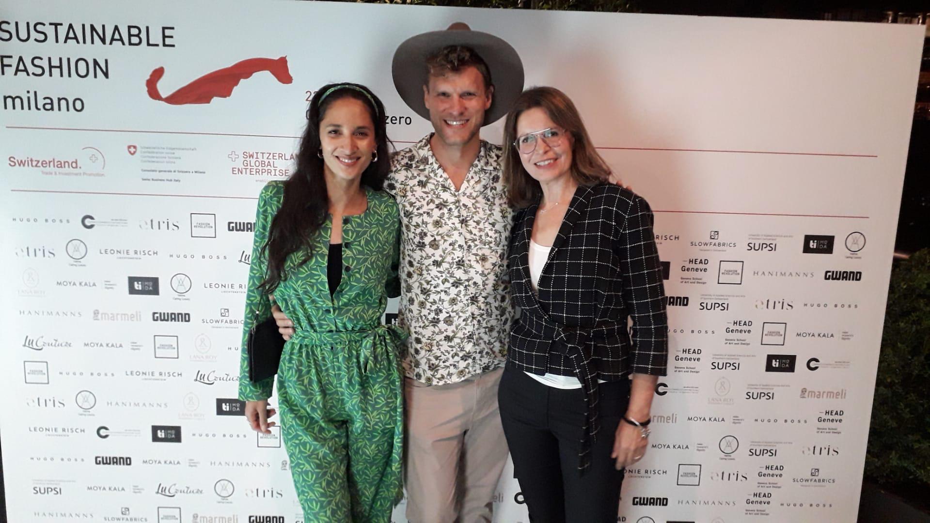 Karen Fleischmann, Thomas Odermatt und Rufina Hümmer