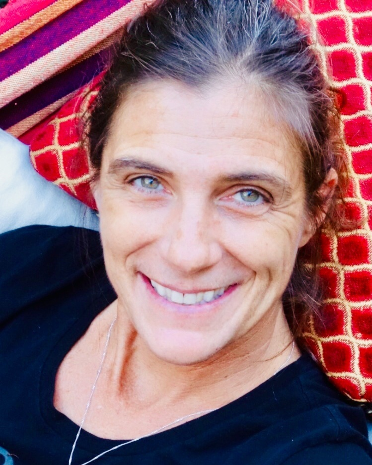 """Valerie Vermeulen - I came to yoga in 1999 hunched over, broken down and tired. A whole new world opened up in my first savasana when the teacher reminded me to make space for my heart. That space permeated through my body, heart and mind. The breath is everything to me and I am passionate in helping others connect to their highest self via conscious breathing.I have been practicing Ashtanga vinyasa yoga daily for 19 years, and have had the privilege of teaching daily for 17 years. I've worked with all age groups and varying degrees of flexibility and strength. I have personally experienced deep cathartic healing inside and out through approaching this brilliant sequence mindfully and I have witnessed it in others. I have also been a practitioner of Thai yoga therapy for over 10 years, which is described as """"a physical application of loving kindness.""""""""Yoga is intimacy with reality as it is.""""– Krishnamacharya"""