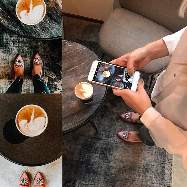 A little #Instagram #BTS action for one of our clients with @tabithagarneata ✨