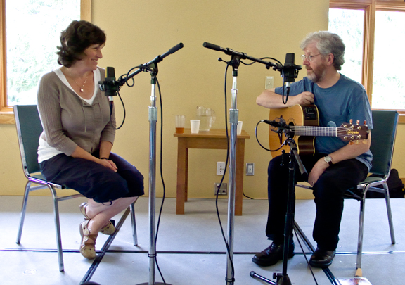 Interviewing Daithi Sproule, Swannanoa Gathering