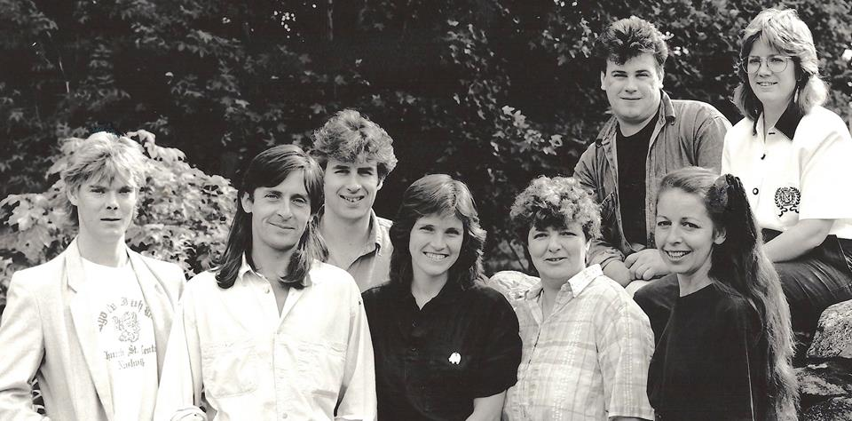 With Dougie MacLean and The Thistle & Shamrock Tour, 1990
