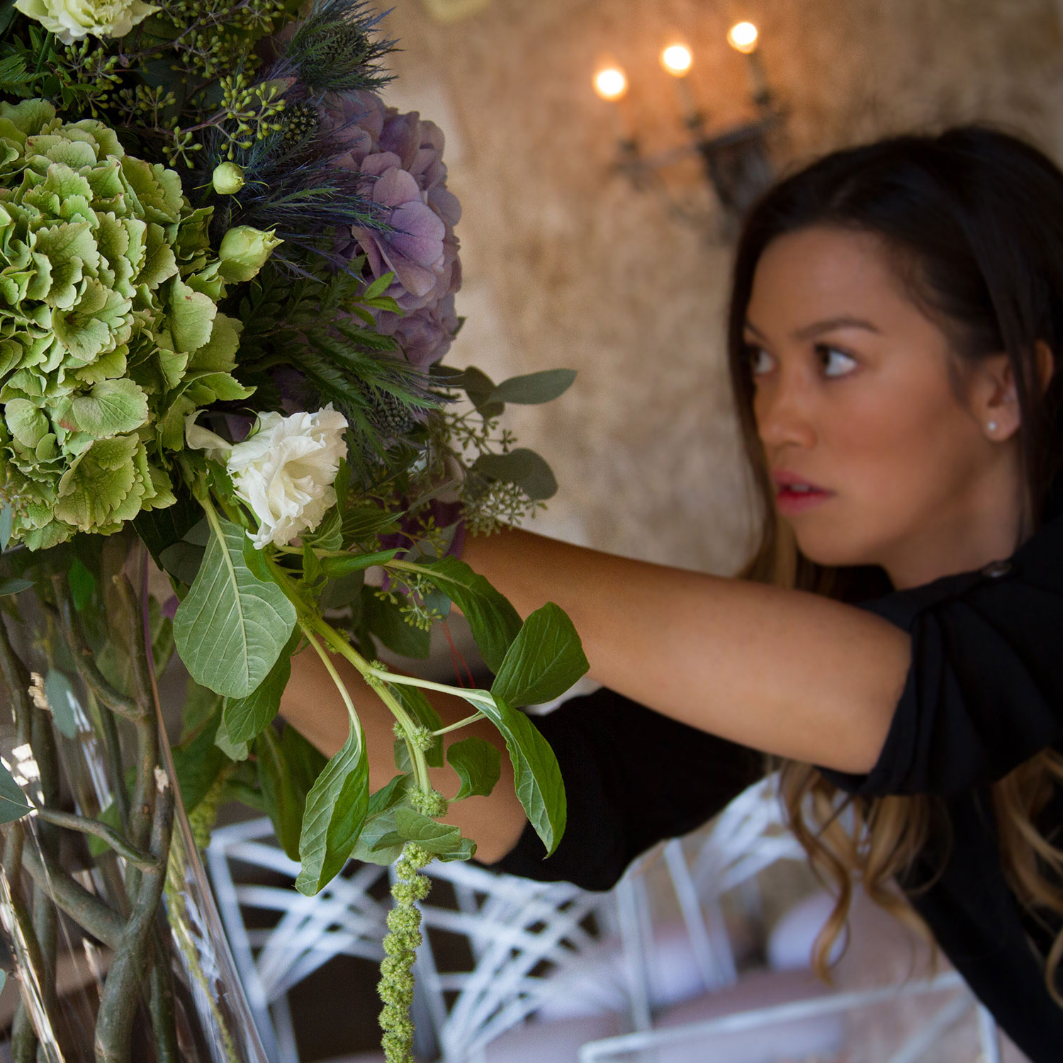 Kailee - Owner - Kailee started working in the floral industry in 2003. Later in 2009 she studied Floral Design at the Boerma Institute in Aalsmeer, NL. Eventually moving on to work in Vancouver for two years, she moved back to her home town to purchase the former Willow Haven and continue her career in the floral industry!