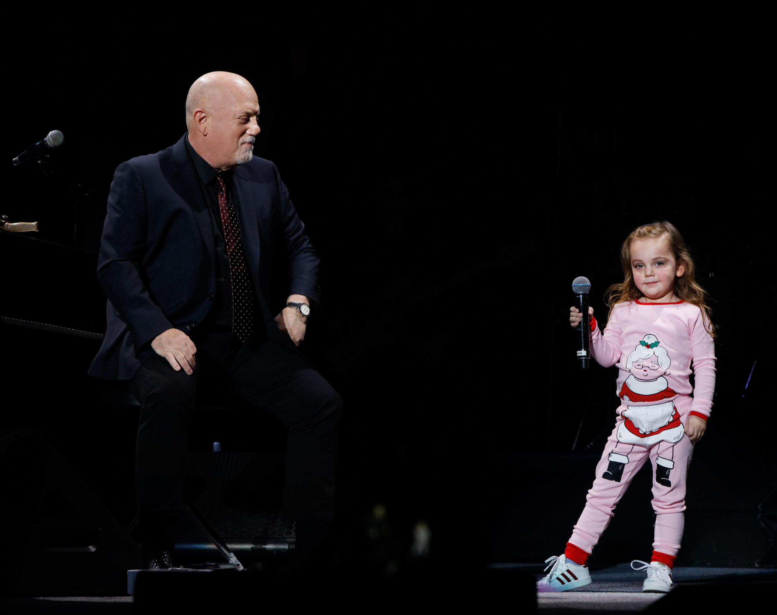 Billy Joel and his daughter, Della, MSG 2018