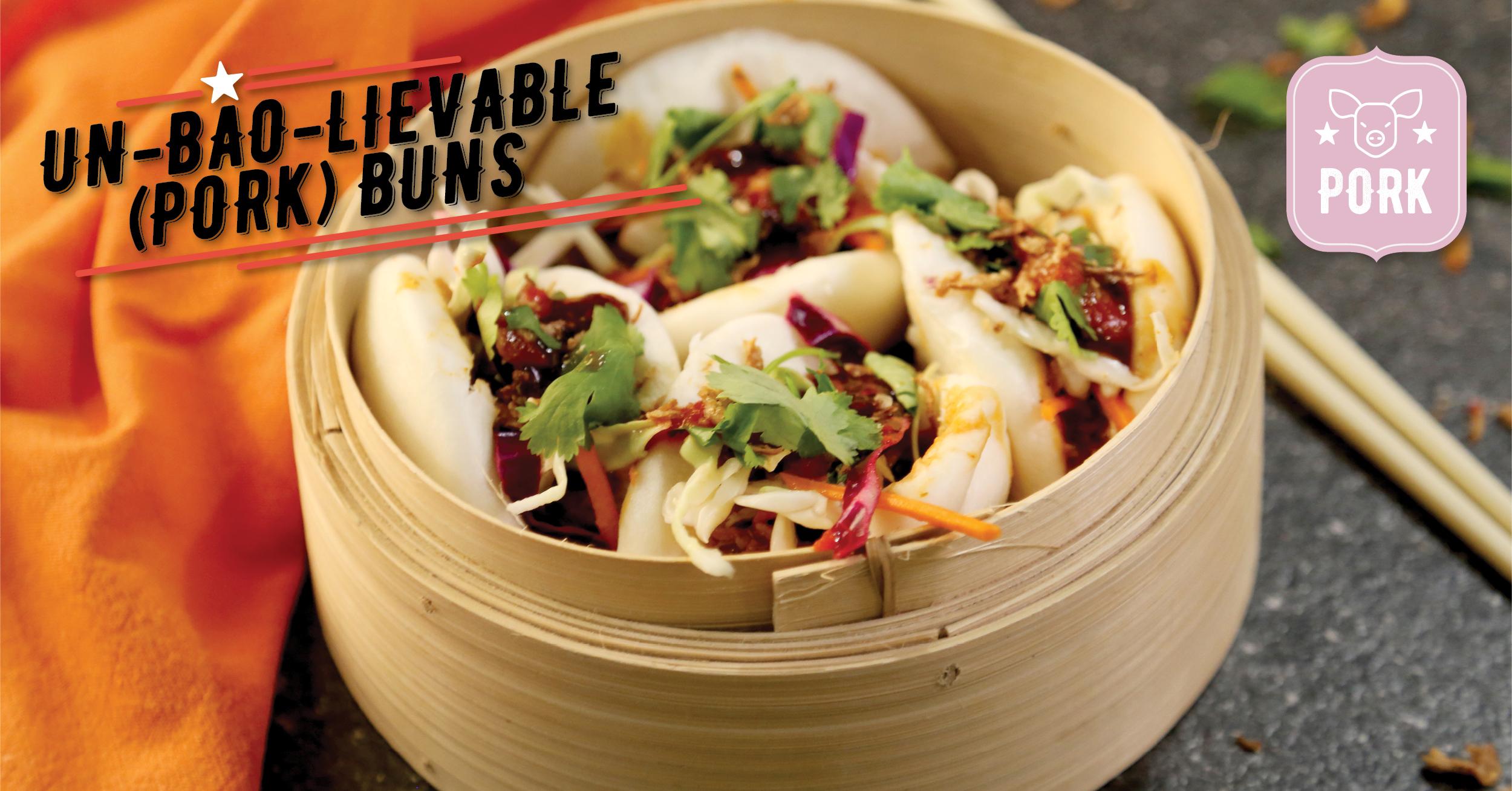 Un-Bao-Lievable (Pork) Buns