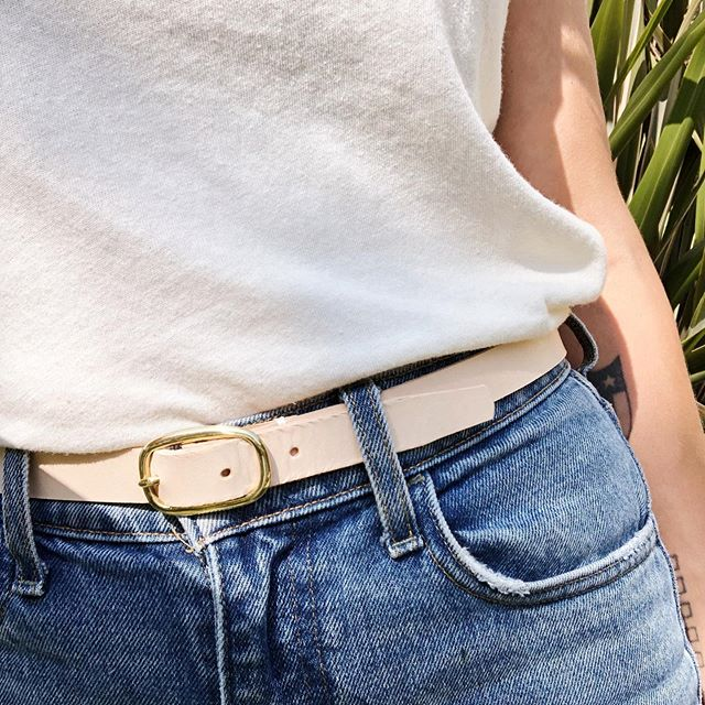 That perfect companion. New HIGH-WAISTED belt. Available now and ready to ship. 🤙🏼